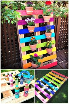 Genius DIY Projects Pallet For Garden Design Ideas 40
