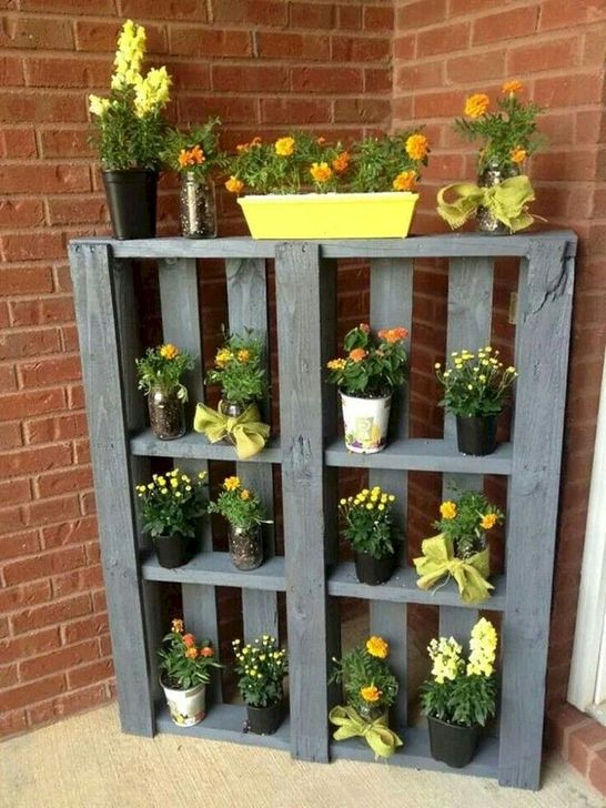 Genius DIY Projects Pallet For Garden Design Ideas 44