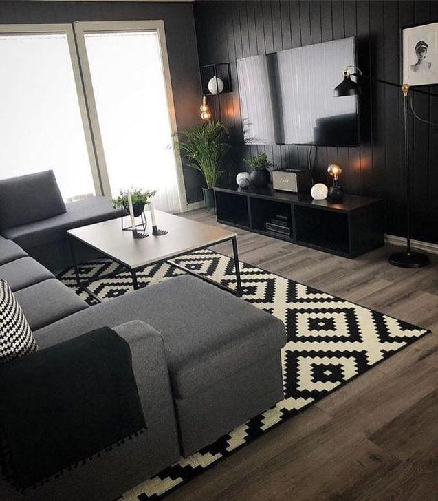 Impressive Small Living Room Ideas For Apartment 16