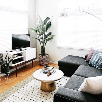 Impressive Small Living Room Ideas For Apartment 35
