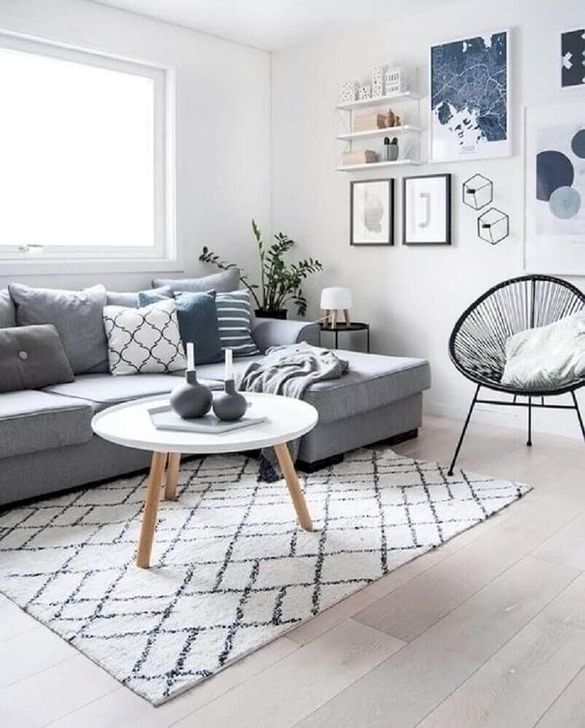 Impressive Small Living Room Ideas For Apartment 55