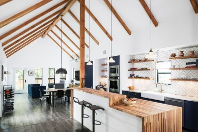 Inspiring Open Concept Kitchen You'll Totally Love 05