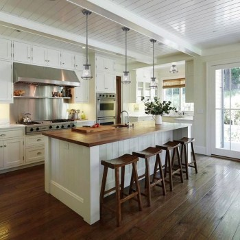 Inspiring Open Concept Kitchen You'll Totally Love 27