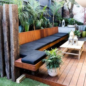 Magnificient Outdoor Lounge Ideas For Your Home 28