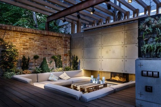 Magnificient Outdoor Lounge Ideas For Your Home 32