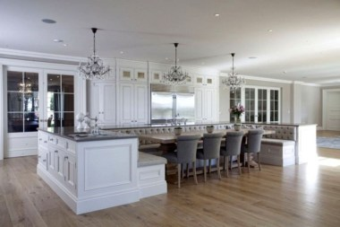 Marvelous Kitchen Island Ideas With Seating For Kitchen Design 31