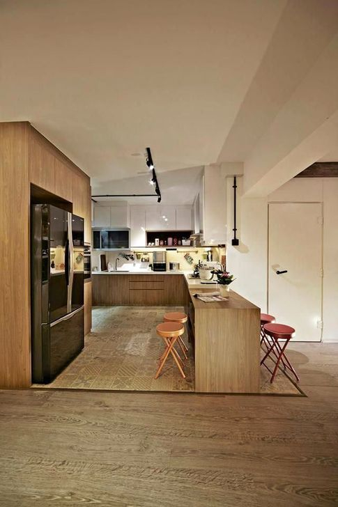 Minimalst Open Concept Kitchen And Dining Room Design Ideas 14