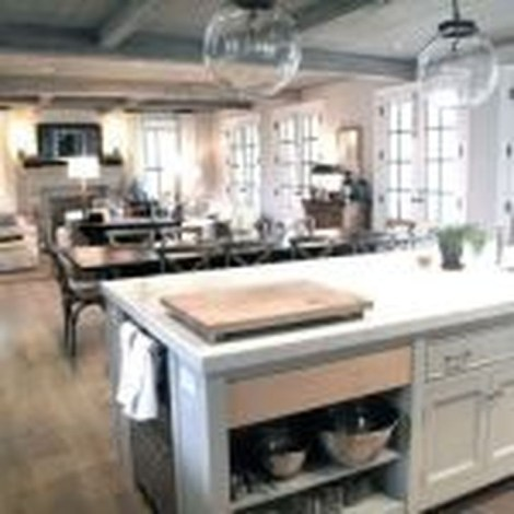 Minimalst Open Concept Kitchen And Dining Room Design Ideas 15