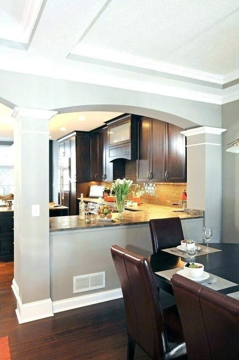 Minimalst Open Concept Kitchen And Dining Room Design Ideas 17