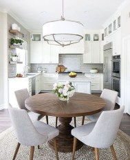 Minimalst Open Concept Kitchen And Dining Room Design Ideas 29