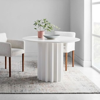 Modern Round Dining Table Design Ideas For Inspiration 09