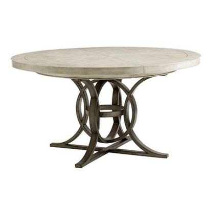 Modern Round Dining Table Design Ideas For Inspiration 32