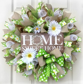 Most Popular DIY Summer Wreath You Will Totally Love 06