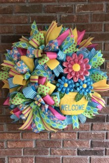 Most Popular DIY Summer Wreath You Will Totally Love 07