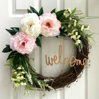 Most Popular DIY Summer Wreath You Will Totally Love 08