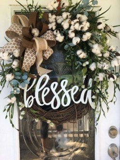 Most Popular DIY Summer Wreath You Will Totally Love 09