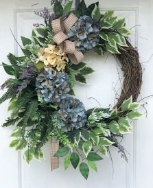 Most Popular DIY Summer Wreath You Will Totally Love 12