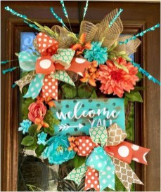 Most Popular DIY Summer Wreath You Will Totally Love 13