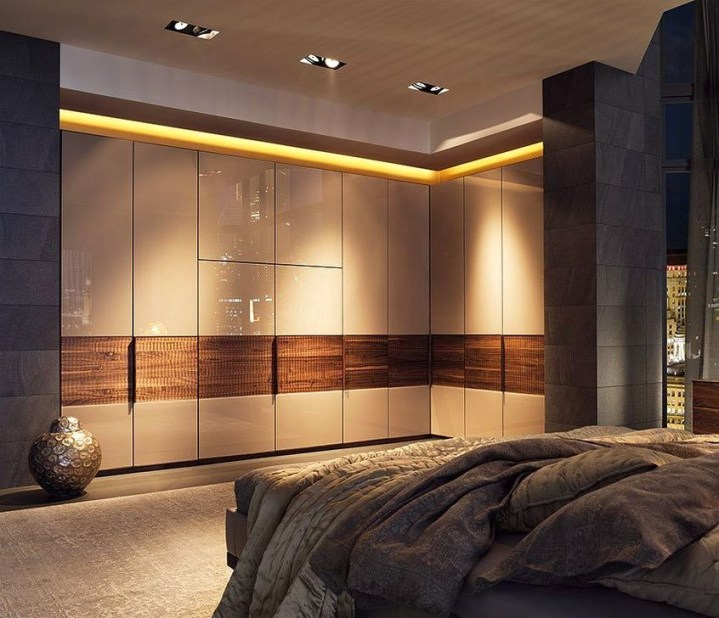 Popular Wardrobe Design Ideas In Your Bedroom 24