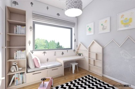 Stunning Desk Design Ideas For Kids Bedroom 15