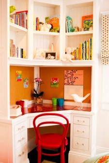 Stunning Desk Design Ideas For Kids Bedroom 27