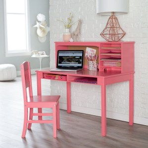 Stunning Desk Design Ideas For Kids Bedroom 47