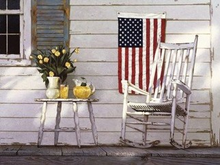 Super Patriotic Porch Independence Day Decoraion Ideas 32