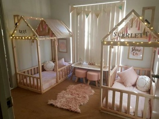 Totally Inspiring Bedroom Decor Ideas For Baby Girls 17