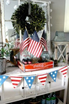 Unique Farmhouse Fourth July Decor Ideas That Inspire You 22