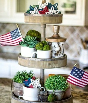 Unique Farmhouse Fourth July Decor Ideas That Inspire You 23