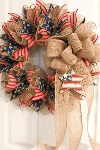 Unique Farmhouse Fourth July Decor Ideas That Inspire You 49