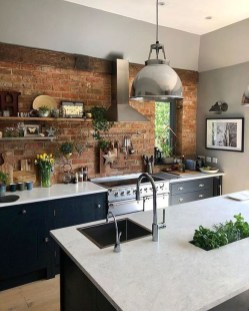 Attractive Kitchen Design Ideas With Industrial Style 01