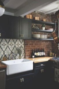 Attractive Kitchen Design Ideas With Industrial Style 04