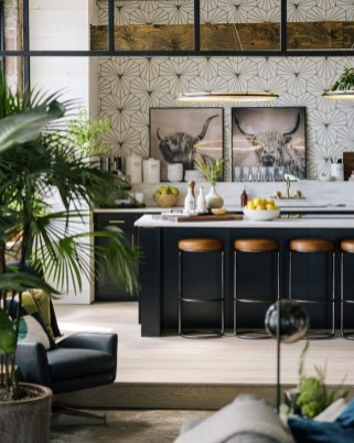 Attractive Kitchen Design Ideas With Industrial Style 23