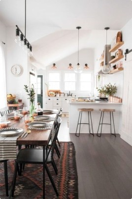 Attractive Kitchen Design Ideas With Industrial Style 24