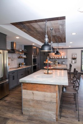 Attractive Kitchen Design Ideas With Industrial Style 25