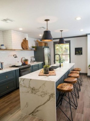 Attractive Kitchen Design Ideas With Industrial Style 34