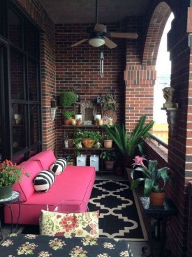 Awesome Small Balcony Ideas To Make Your Apartment Look Great 07