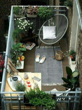 Awesome Small Balcony Ideas To Make Your Apartment Look Great 09