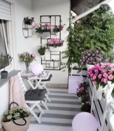 Awesome Small Balcony Ideas To Make Your Apartment Look Great 21