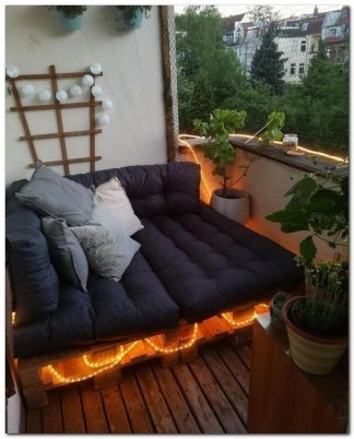 Awesome Small Balcony Ideas To Make Your Apartment Look Great 24