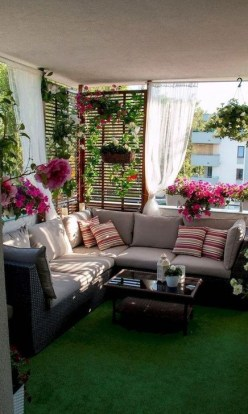 Awesome Small Balcony Ideas To Make Your Apartment Look Great 33
