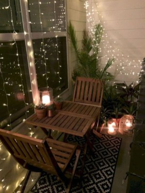 Awesome Small Balcony Ideas To Make Your Apartment Look Great 42