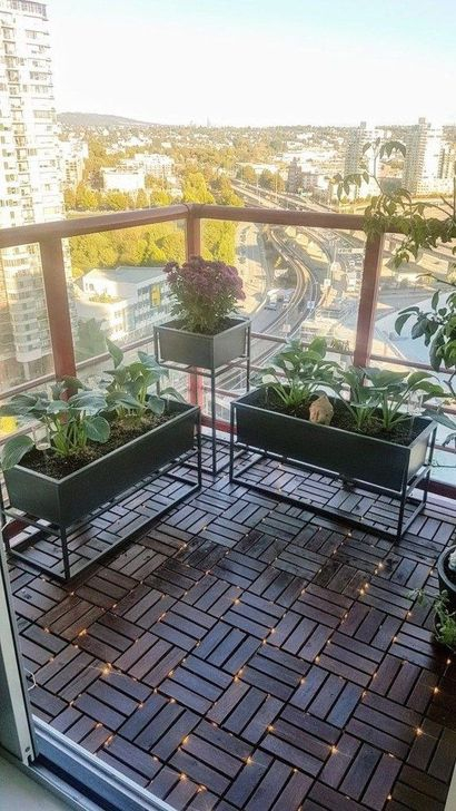 Awesome Small Balcony Ideas To Make Your Apartment Look Great 45