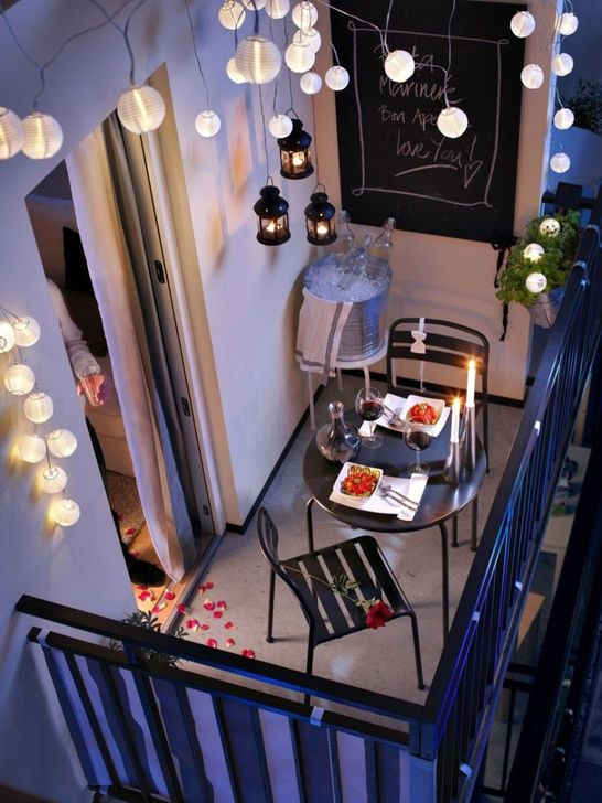 Awesome Small Balcony Ideas To Make Your Apartment Look Great 46