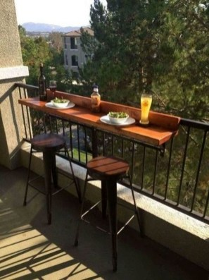 Awesome Small Balcony Ideas To Make Your Apartment Look Great 47