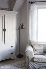 Beautiful White Curtains For Home With Farmhouse Style 07