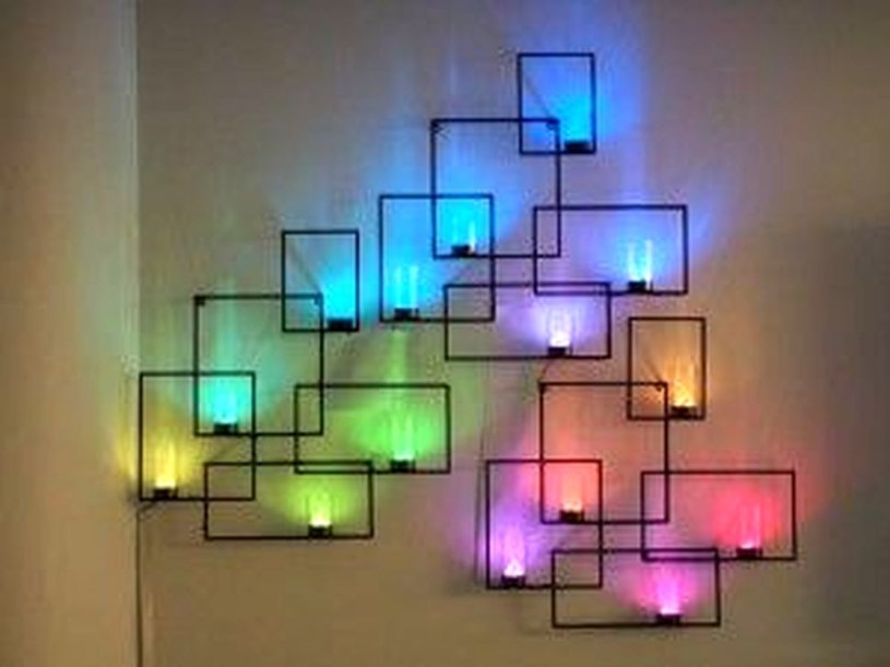 Brilliant DIY Wall Art Ideas For Your Dream House 54