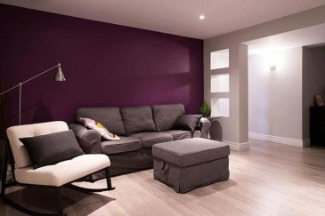 Cute Purple Living Room Design You Will Totally Love 02