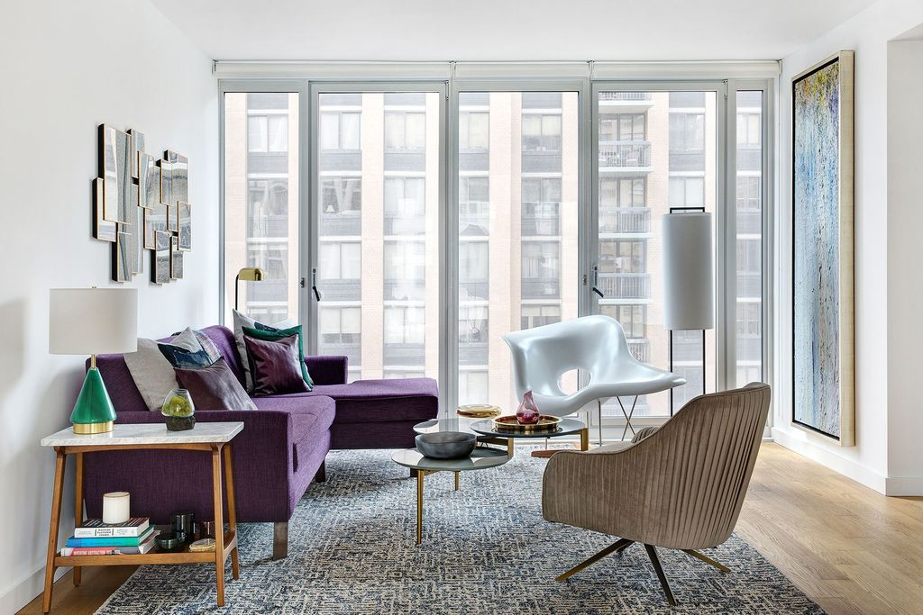 Cute Purple Living Room Design You Will Totally Love 15